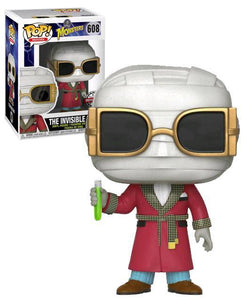 Universal Monsters Funko POP! Movies The Invisible Man Exclusive Vinyl Figure #608