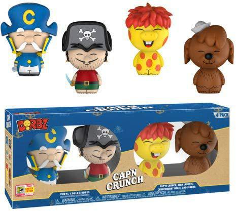 Funko Pop! Cap'n Crunch Dorbz 4pack