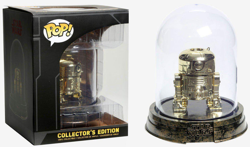 Funko Pop! Star Wars: Gold R2-D2 Collector's Edition Exclusive
