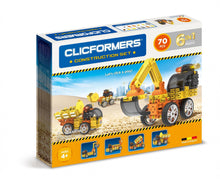 Load image into Gallery viewer, Clicformers Construction Set - 70pc