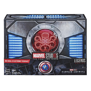 Marvel Legends Series Red Skull Figure & Electronic Tesseract (SDCC)