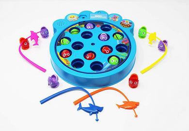 Baby Shark Fishing Game
