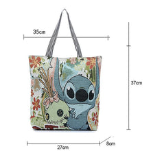 Load image into Gallery viewer, Disney Lilo & Stitch Canvas Tote Bag