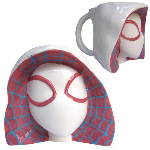 Marvel Spider-Gwen Molded Head Mug - Previews Exclusive