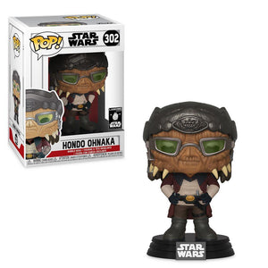 Funko Pop! Hondo Ohnaka Pop! Vinyl Bobble-Head Figure by Funko – Star Wars: Galaxy's Edge