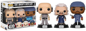 Funko Pop! Star Wars: Lobot, Ugnaught & Bespin Guard Exclusive Vinyl Bobble Head 3-Pack [Cloud City]
