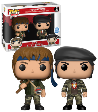 Funko Pop Movies: The Lost Boys - Frog Brothers 2-Pack