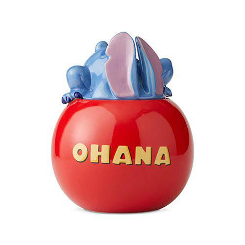 Disney Lilo and Stitch Ohana Stitch Cookie Jar