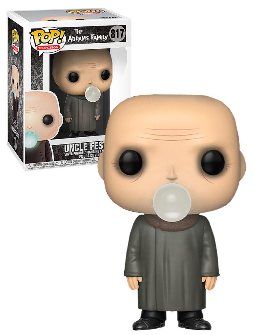 Funko POP! Television The Addams Family #817 Uncle Fester (With Light Bulb) - Exclusive