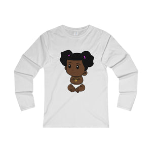 Lil Bosset Fitted Long Sleeve Tee - Bossed Up Productions LLC