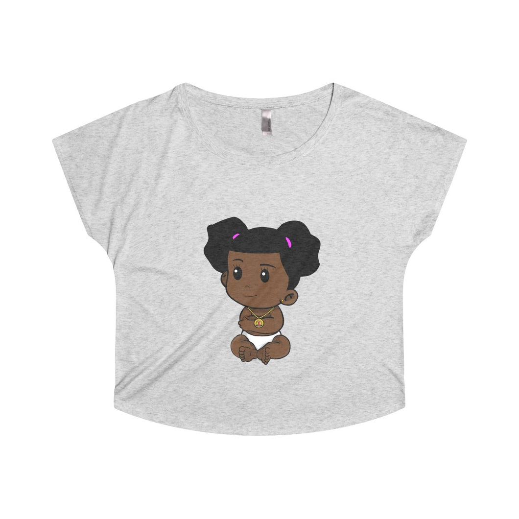 Lil Bosset Tri-Blend Dolman - Bossed Up Productions LLC