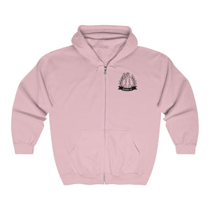 Spurs Bossed Up Crest Zip Up - Bossed Up Productions LLC