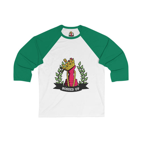 Bossed Up Baseball Tee - Bossed Up Productions LLC