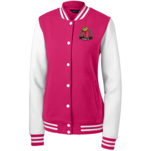 Bossed Up Womens Letterman - Bossed Up Productions LLC