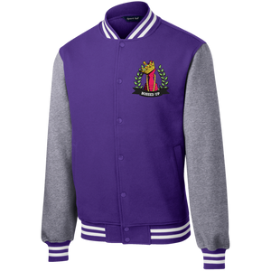 Bossed Up Men's Letterman - Bossed Up Productions LLC