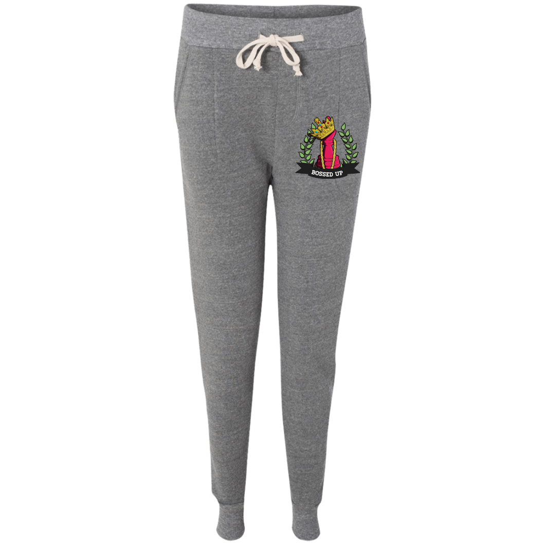 Bossed Up Ladies' Fleece Jogger - Bossed Up Productions LLC