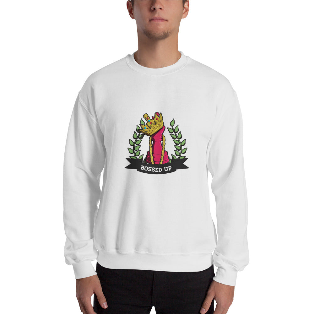 Bossed Up Sweatshirt - Bossed Up Productions LLC