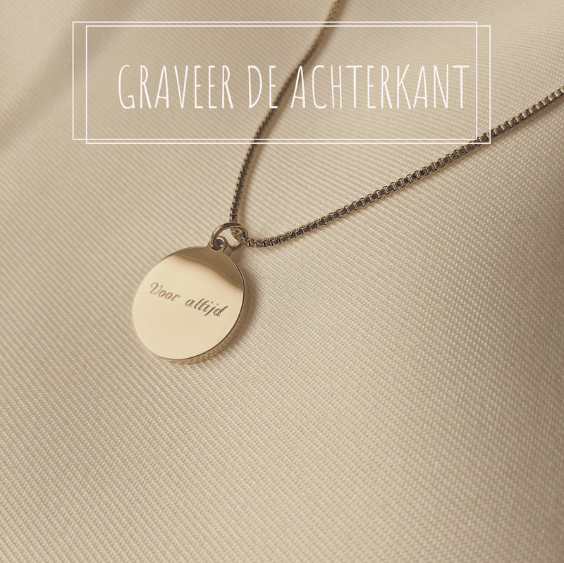 Loulou • Initial Ketting • Arabische letters • Zilver