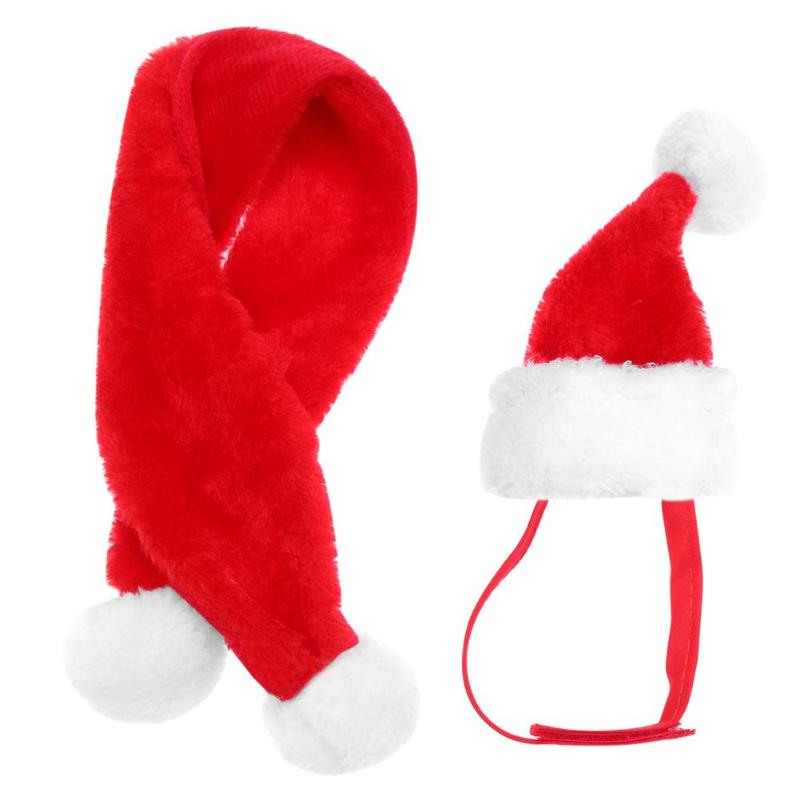 Christmas Hats and Scarf for Pets - lotsforless.shop b7a73f31418a