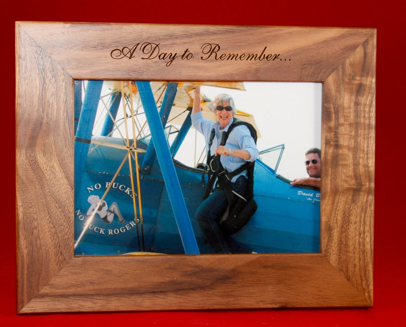Day to Remember Picture Frame, Custom Text