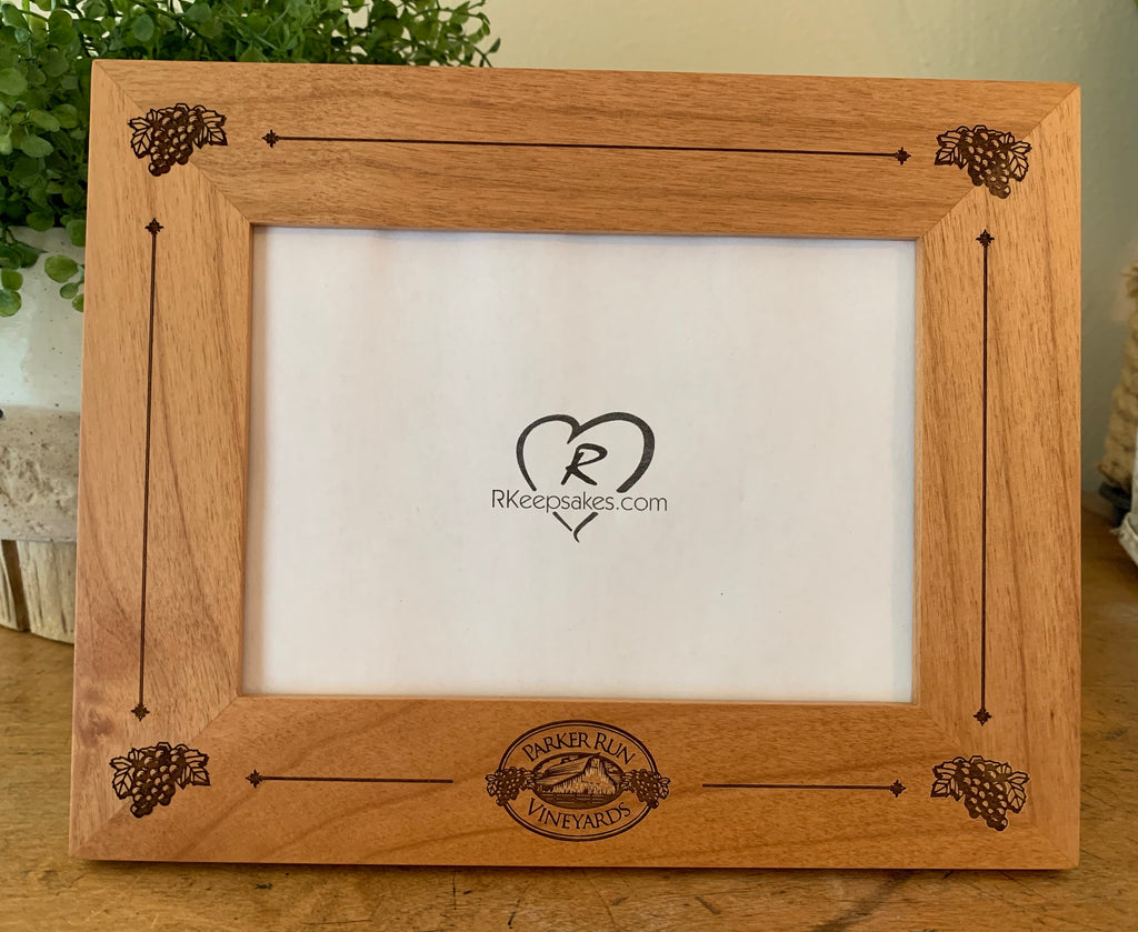 Corporate Gift Picture Frame, Custom Engraving