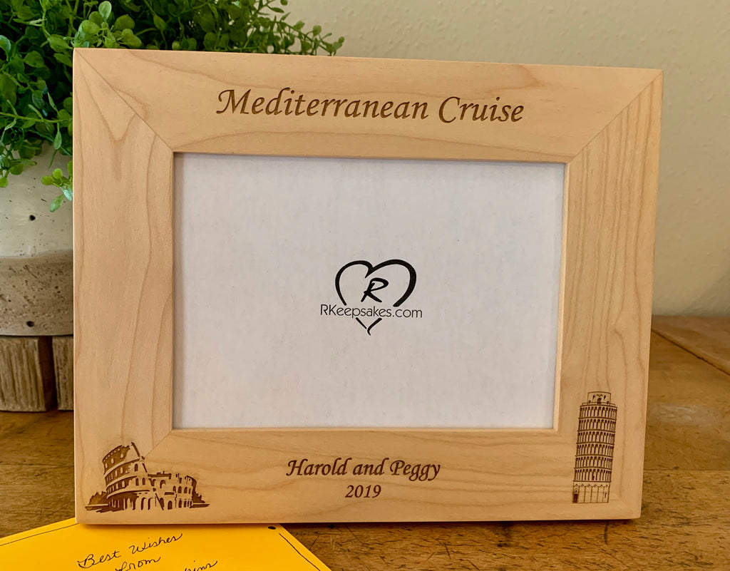 Personalized Italy Picture Frame 2