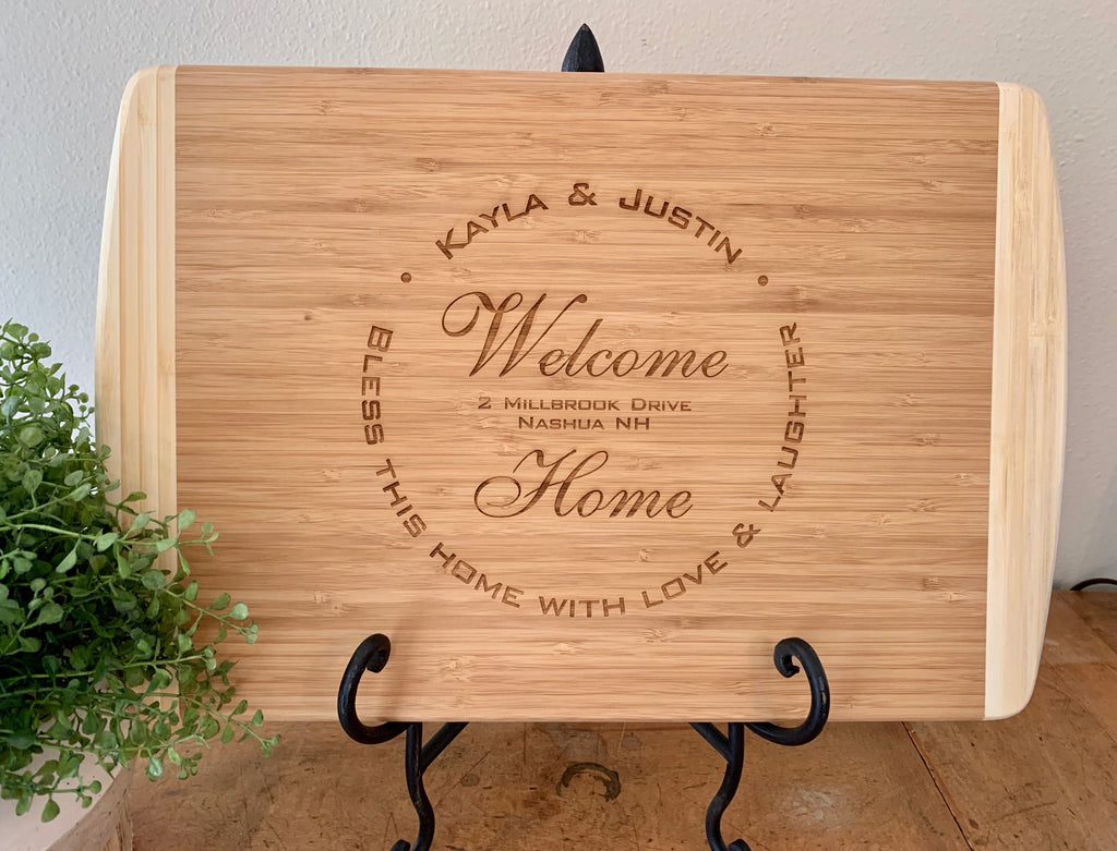 Welcome Home Cutting Board, Realtor Gift