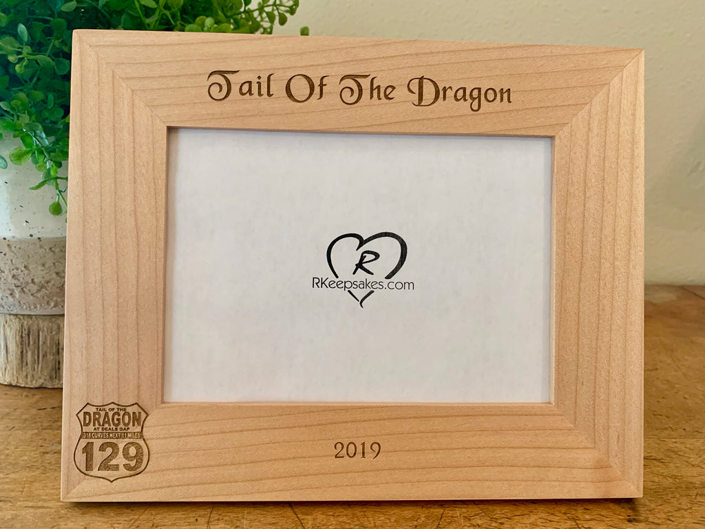 Deals Gap Picture Frame, Custom Text