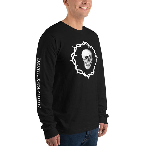 los-angeles-death-and-seduction-goth-streetwear-punk-rock-Apparel & Accessories > Clothing (1604) - Death And Seduction | Long Sleeve T-shirt