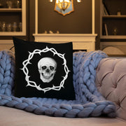 los-angeles-death-and-seduction-goth-streetwear-punk-rock-apparel-skulls-skeleton-Apparel & Accessories > Clothing (1604) - Death And Seduction | Premium Pillow
