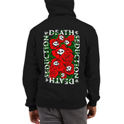 los-angeles-death-and-seduction-goth-streetwear-punk-rock-apparel-skulls-skeleton-skulls-and-roses-Apparel & Accessories > Clothing (1604) - Skulls And Roses | Champion Hoodie