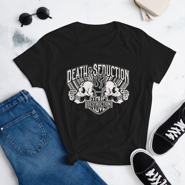 Love and Destruction Women's short sleeve t-shirt