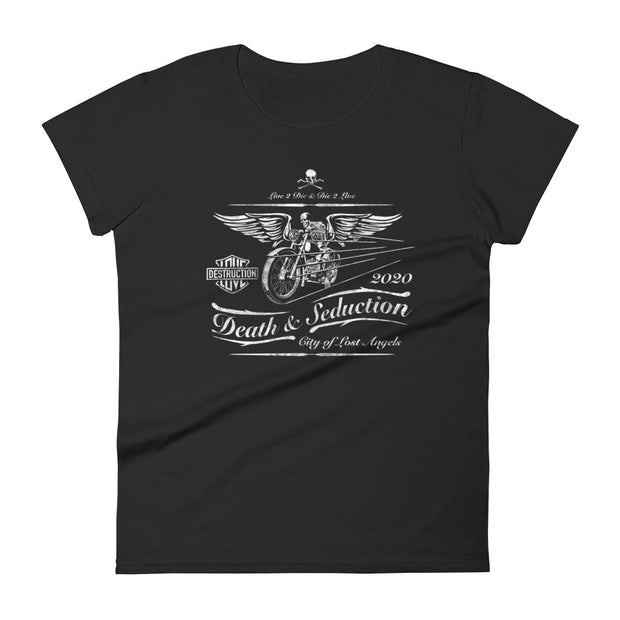 Death Cafe Race | Women's short sleeve t-shirt