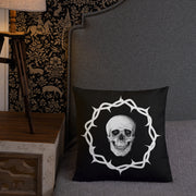 Death and Seduction | Premium Pillow
