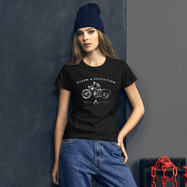 Ghost Rider Cafe Racer |  Women's short sleeve t-shirt