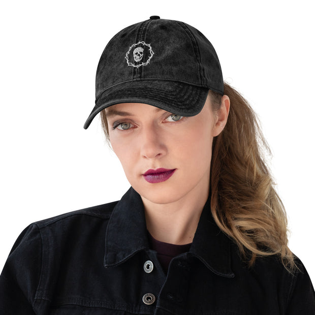 Death and Seduction | Vintage Cotton Twill Cap