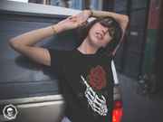 Beautiful Death Hand Rose | Short-Sleeve Unisex T-Shirt