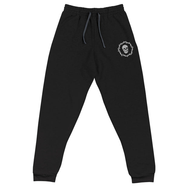 Skull and Thorns Joggers | Death and Seduction