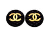 Vintage Chanel earrings as seen on Ashlee Simpson