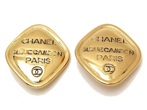 Chanel earrings #ea544