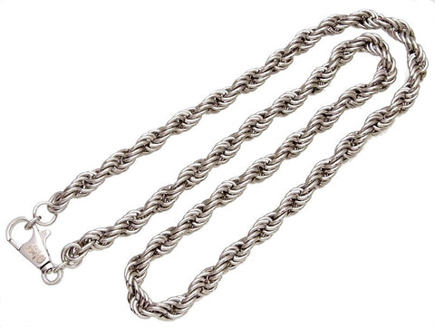 Vintage Chanel necklace silver color chain