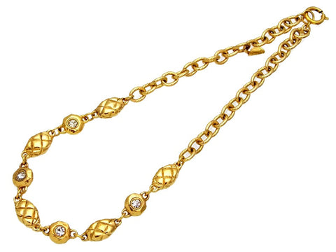 Vintage Chanel necklace rhinestone