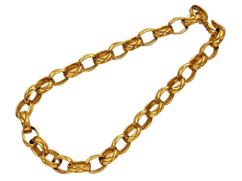 Vintage Chanel necklace chain