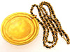 Vintage Chanel necklace COCO huge medallion rare