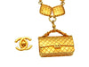 Vintage Chanel necklace 2.55 flap bag rhombus chain