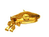 Vintage Chanel pin brooch beret gold tone