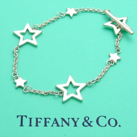 Pre-owned Tiffany & Co bracelet star chain