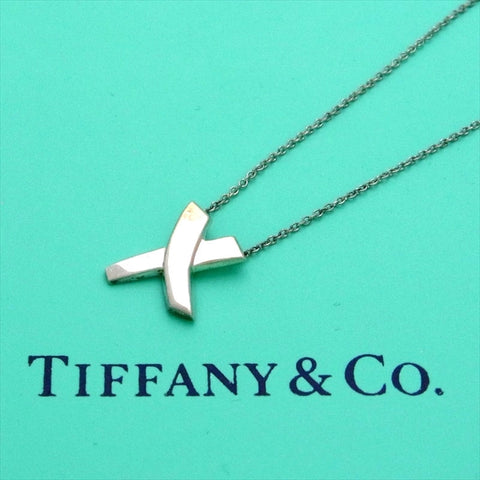 Pre-owned Tiffany & Co necklace Paloma Picasso X kiss