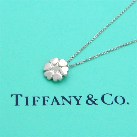 Pre-owned Tiffany & Co necklace Paloma Picasso crown of hearts