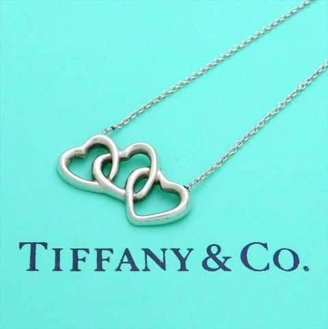 Pre-owned Tiffany & Co necklace triple heart
